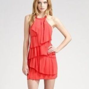 BCBG Maxazria Dress Azalea Red